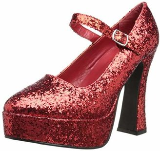 Ellie Shoes Women's 557 Eden G Glitter Maryjane Platform Pump