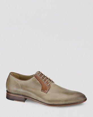 Johnston & Murphy Holbrook Leather Plain Toe Oxfords