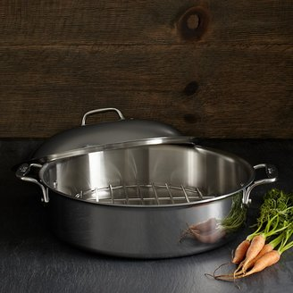 All-Clad Stainless Steel 6 Quart French Braiser with Rack & Lid
