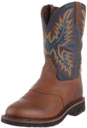 Justin Men's Stampede Work Boot Soft Toe