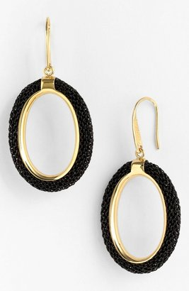 Nordstrom Adami & Martucci 'Mesh' Oval Drop Earrings Exclusive)