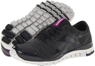 Reebok RealFlex Fusion TR (Gravel/Aubergine/Snowy Grey) - Footwear