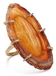 Melissa Joy Manning Agate Ring