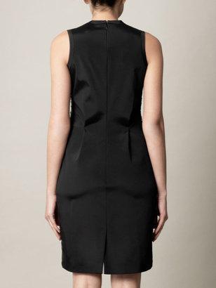 Marios Schwab Chiffon and sequin shift dress