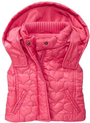 Gap Quilted heart puffer vest