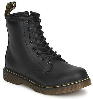 Dr. Martens Dm J Boot girls's Mid Boots in Black