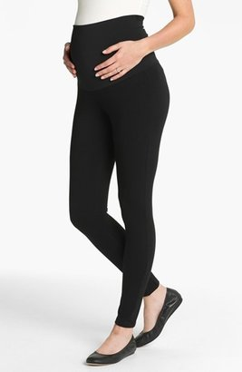 Women's Maternal America Belly Support Maternity Leggings $72 thestylecure.com