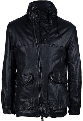 Giorgio Brato lace-up leather jacket