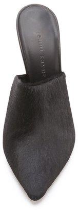 Jenni Kayne Haircalf Pointed Mules