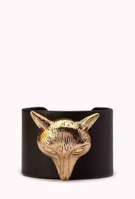 Forever 21 Foxy Faux Leather Cuff