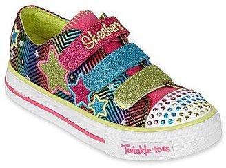Skechers Twinkle Toes Triple Up Girls Shoes