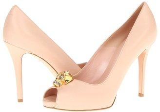 Alexander McQueen Sandal Pelle - City (Sand) - Footwear