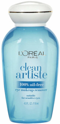 L'Oreal Ideal Clean Artiste 100% Oil-Free Eye Makeup Remover