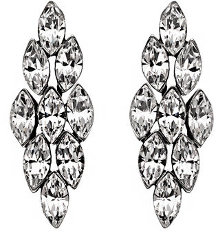Ben-Amun Ben Amun Crystal Baguette Earrings