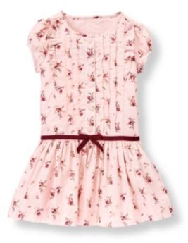 Janie and Jack Pleated Floral Button Dress