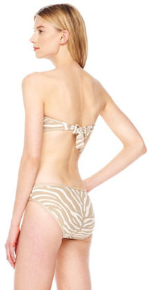 MICHAEL Michael Kors Tiger-Stripe Bandeau Top