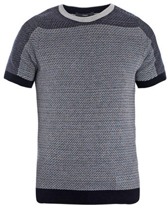 Z Zegna Micro weave short-sleeve top