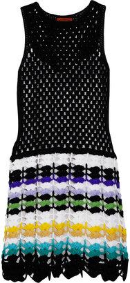 Missoni Nerys crochet-knit wool dress