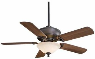 """Minka Aire 52"""" Bolo 5 Blade Ceiling Fan with Remote, Light Kit Included Minka Aire"""
