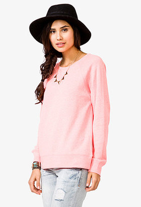 Forever 21 Heathered French Terry Sweatshirt