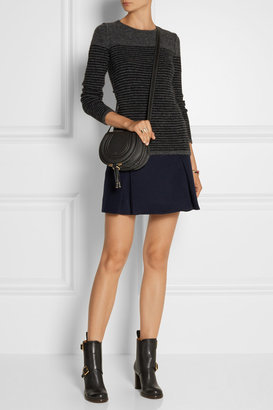 Etoile Isabel Marant Wallis striped textured-knit sweater