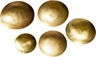 Tom Dixon Form Brass Bowls, Set of 5