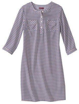 Merona Petites 3/4 Sleeve Shift Dress - Assorted Prints