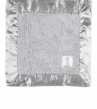 Little Giraffe Chenille Security Blanket - Silver