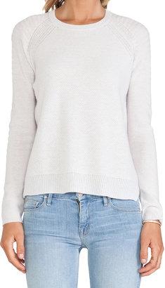 Velvet by Graham & Spencer Alba Cashmere Classic Sweater