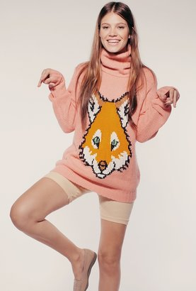 Wildfox Couture Fox Trout Seattle Sweater in Scotch