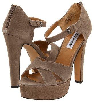 Steve Madden P-Gabor (Taupe Suede) - Footwear