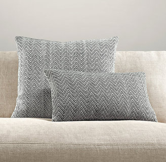 Restoration Hardware Chevron Tapestry Weave Pillow Collection