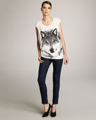Stella McCartney Skinny Seamed Jeans