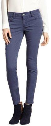 Level 99 majestic blue stretch denim 'Liza' skinny cut jean