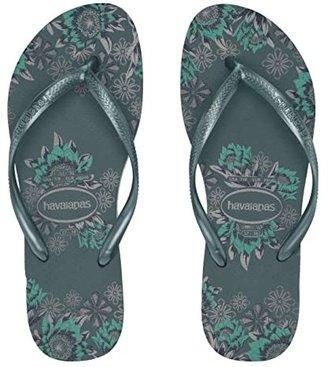 Havaianas Slim Organic Flip Flops (Ballet Rose) Women's Sandals