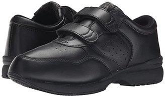 Propet Life Walker Strap Medicare/HCPCS Code = A5500 Diabetic Shoe (Black) Men's Hook and Loop Shoes