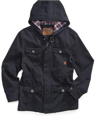 GUESS Kids Jacket, Little Boys Hooded Parka
