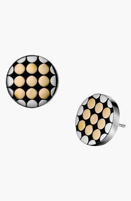 John Hardy 'Dot Gold & Silver' Small Round Stud Earrings