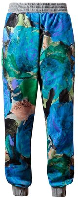 Christopher Kane Nineties Floral Printed Sweatshirt Trousers