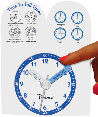 Disney Watch, Kid's Cinderella Time Teacher Blue Leather Strap 31mm W000047