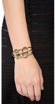Alexis Bittar Five Ringed Cuff Bracelet