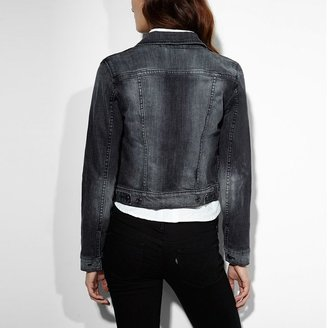Levi's Trucker Crop Denim Jacket - Juniors