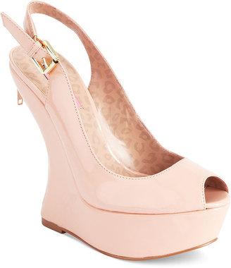 Betsey Johnson Shoes, Makenna Platform Wedge Pumps