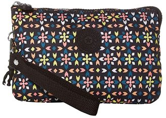 Kipling Creativity XL Printed Pouch (Floral Mozzaik) Clutch Handbags