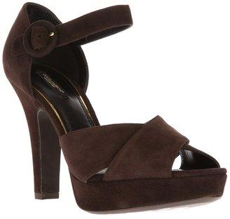Dolce & Gabbana platform sandal