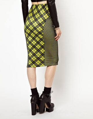 Freak Of Nature Mad Bad And Plaid Skirt In Plaid