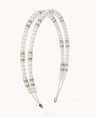 Forever 21 Pearlescent Double Headband