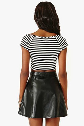 Nasty Gal Vertical Limit Crop Top