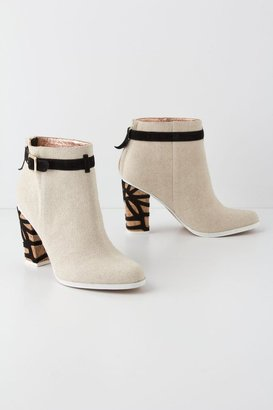 Anthropologie Quinn Ankle Boots