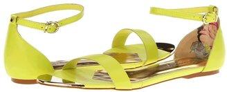Ted Baker Ballena (Green Leather) - Footwear